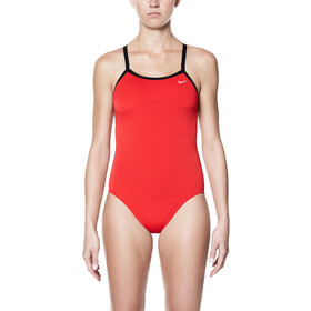Nike Swim Poly Core Solid Costume da bagno Donna, university red